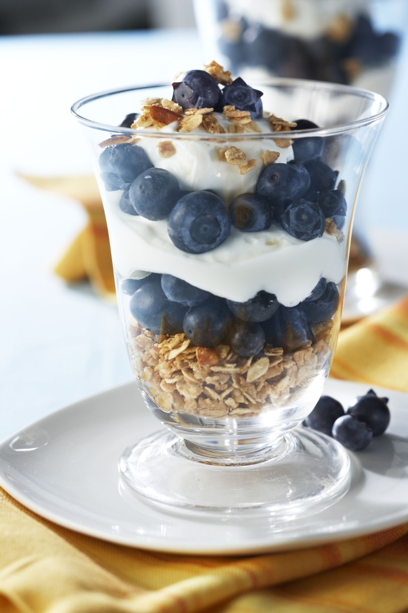 Blueberry Yogurt Parfait Recipe — Dishmaps
