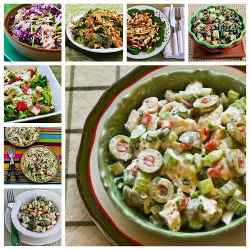 Twenty favorite salads to make with leftover rotisserie chicken.