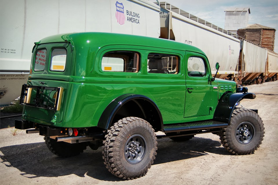Dodge Power Wagon 6x6 For Sale >> EXHAUST PIPE DREAMS: Legacy Dodge Carryall and Legacy Power Wagon
