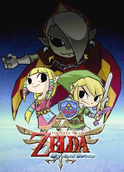Juego The Legend of Zelda Skyward Sword para NDS?!
