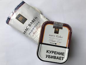 Deux tabacs de marin de Mac Baren