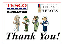 TO EVERYONE WHO DONATED MONEY OVER THE H4H FUNDRAISING WEEKEND AT TESCO