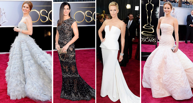 Amy Adams, Sandra Bullock, Charlize Theron, Jennifer Lawrence, Oscars