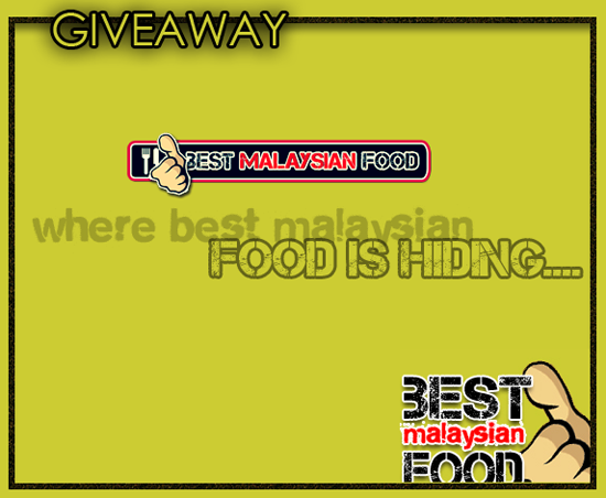 Giveaway Best Malaysian Food Photo