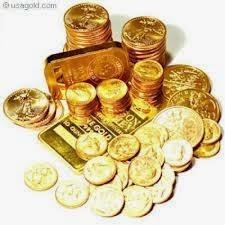 emas turun