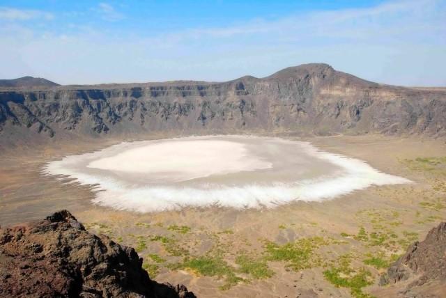 White Crater in Saudi Arabia - Al Waba