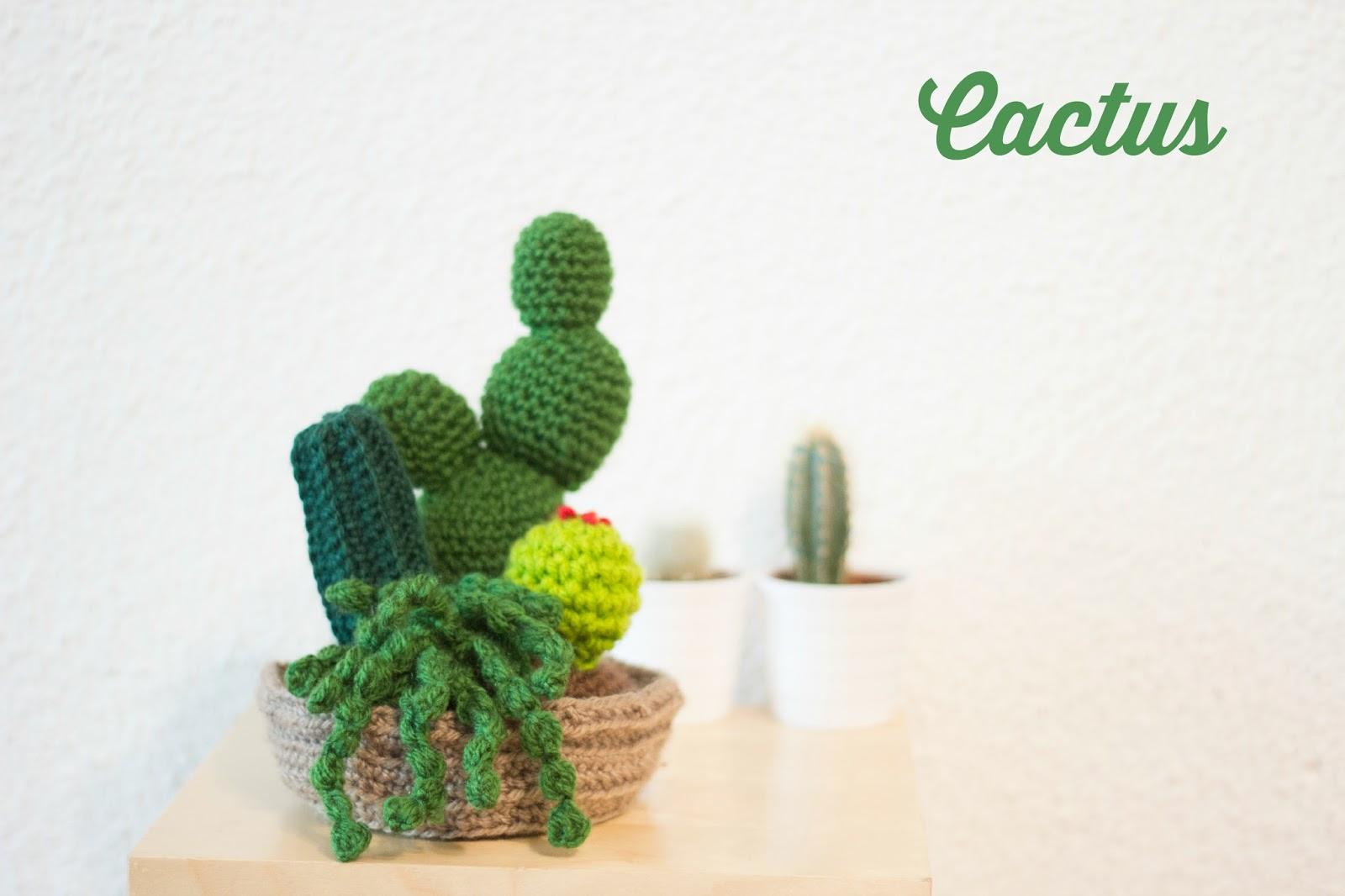 De puntadas y otros enredos cactus de ganchillo for Cactus navideno