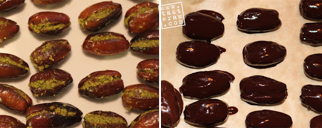 raw, dessert, dates, pistachios, chocolate