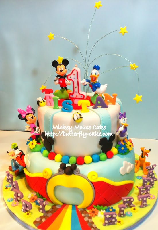 Mickey Mouse Cake Decorating Ideas