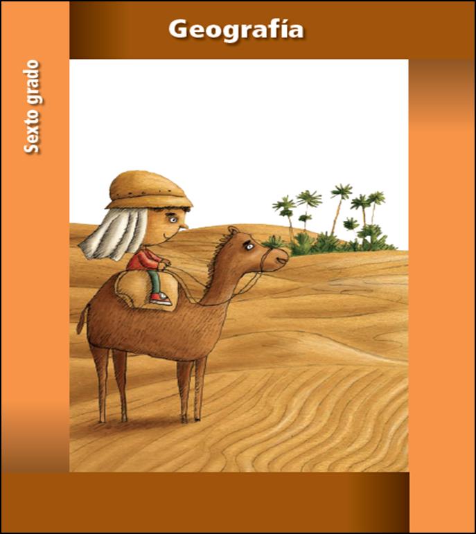 Libro de texto de geografía para sexto grado (2013 - 2014)