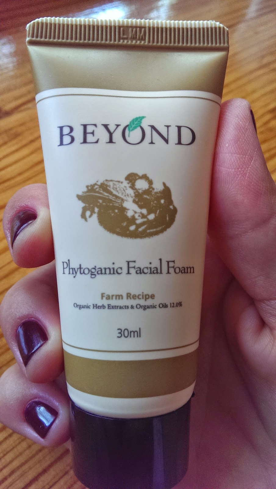 Beyond Farm Phytoganic Facial Foam