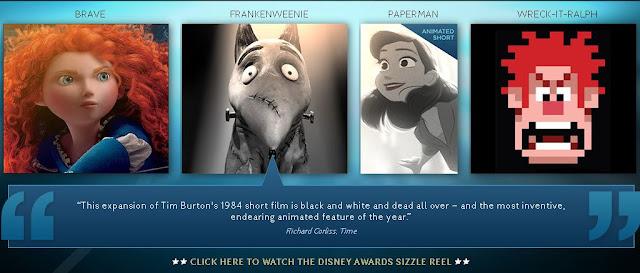 Disney 2012 Sizzle Reel