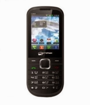 Buy Micromax C210 Black Rs1545 only at snapdeal