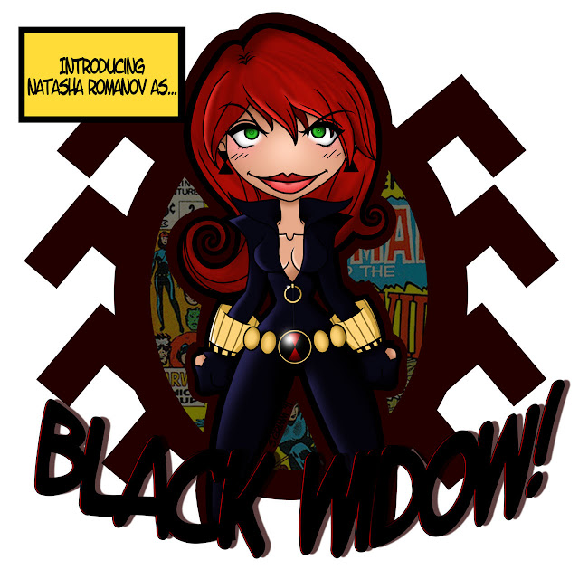 Introducing: Black Widow por MisfortunesofVirtue