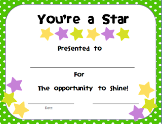 , You're a Star