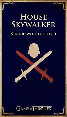 casa Skywalker - Juego de Tronos en los siete reinos