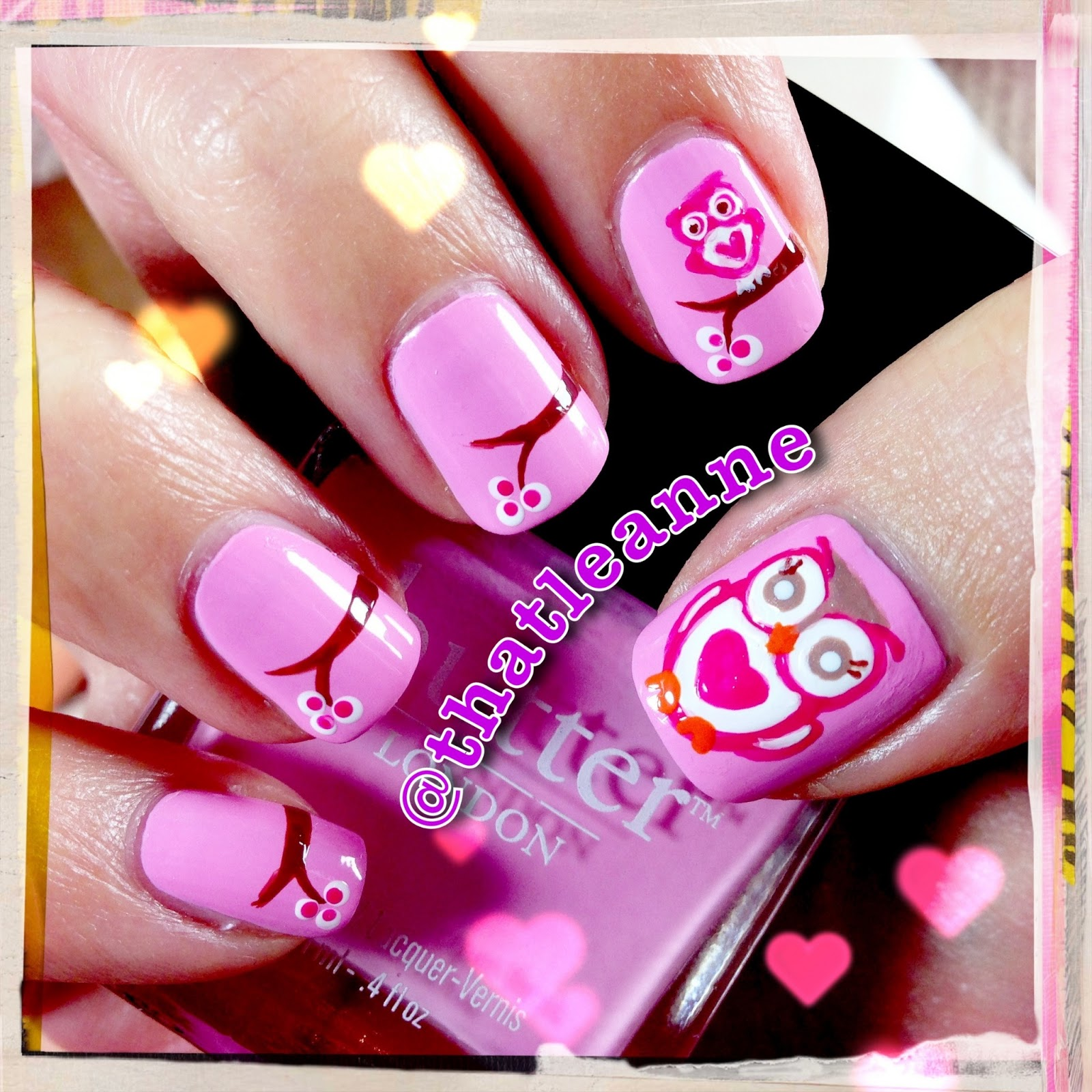 Thatleanne Chococat Nail Art: Thatleanne: Owl Love You Forever