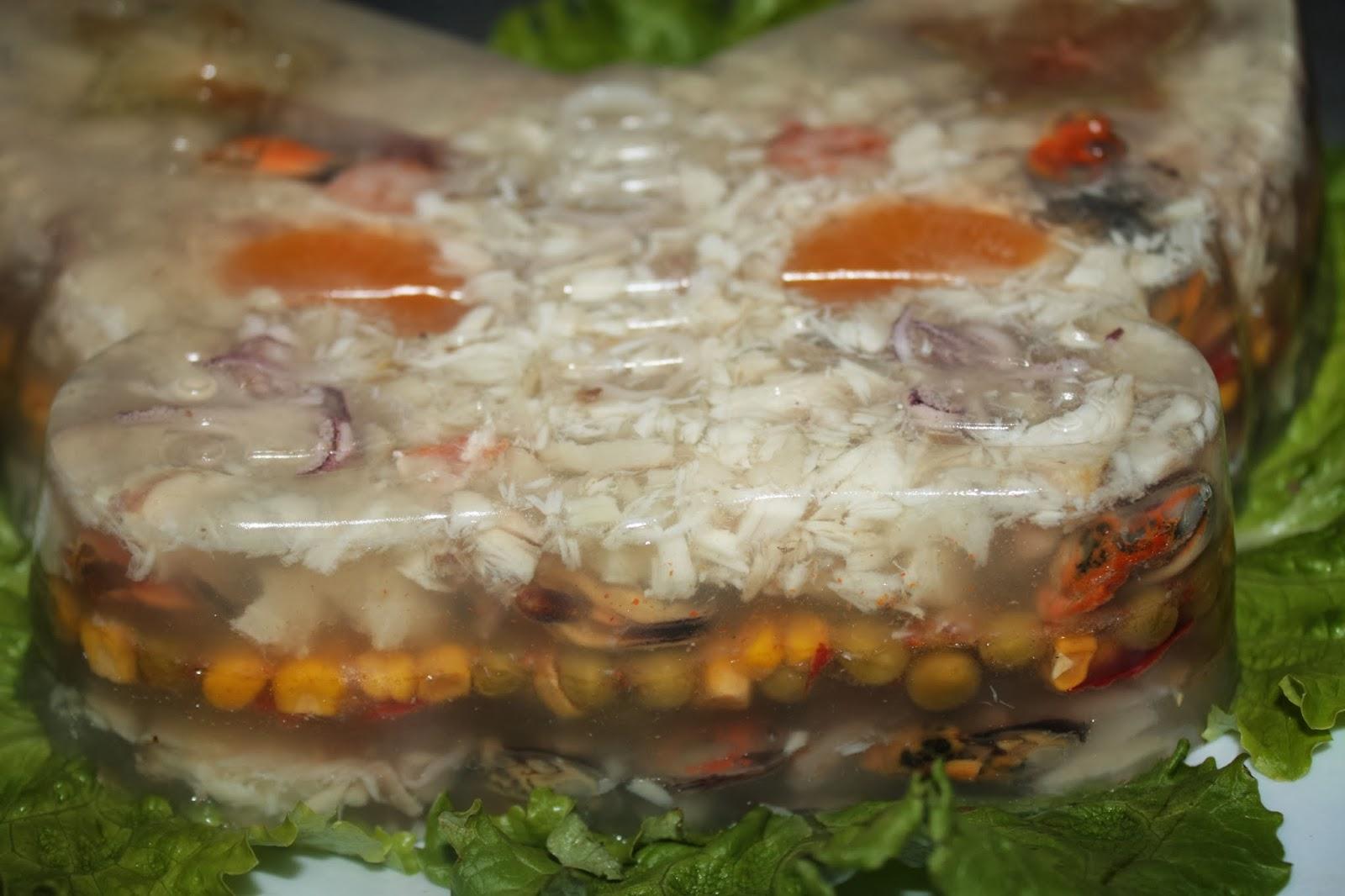 Заливное из горбуши пошаговое фото