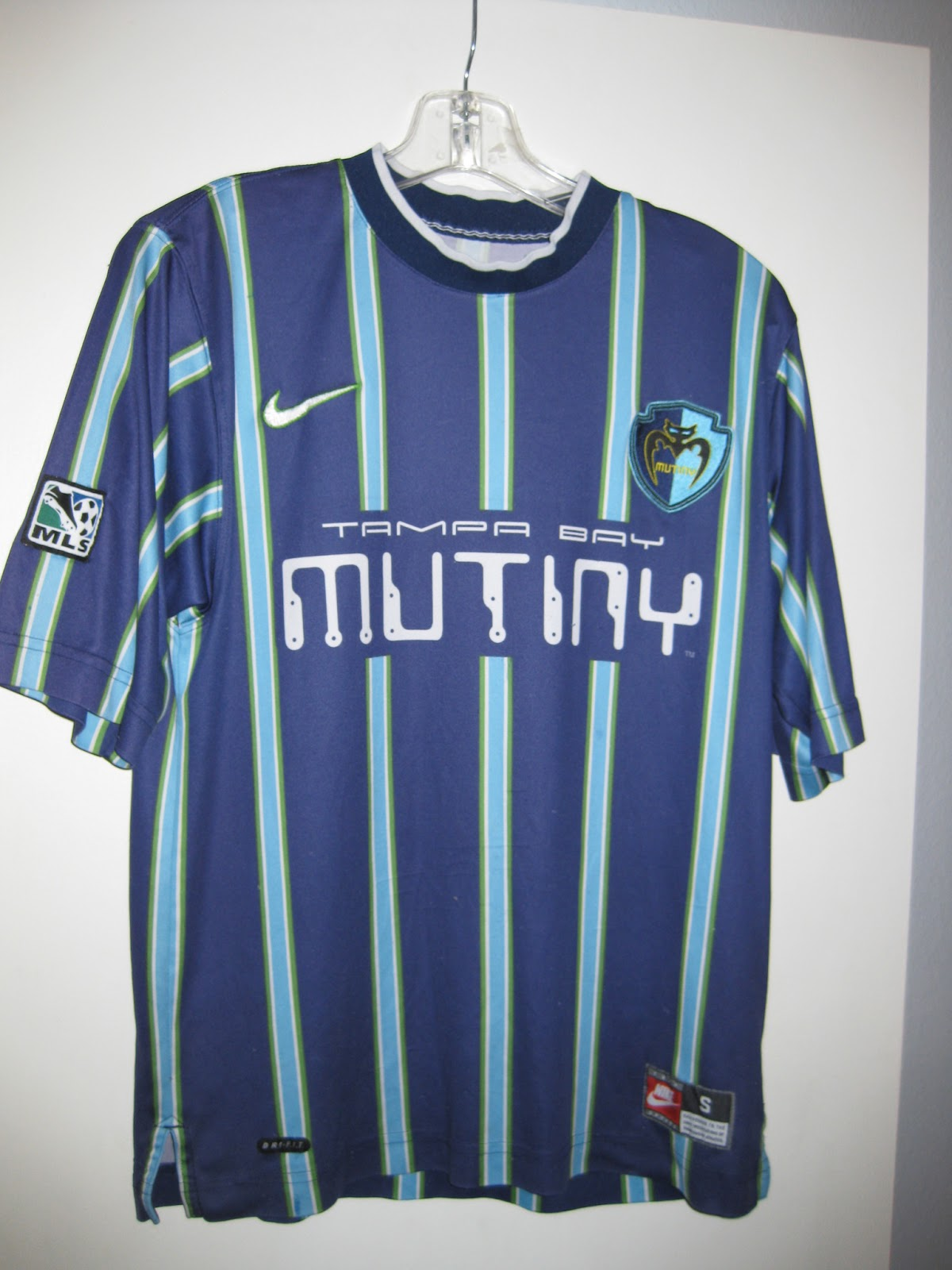 Chris's Soccer Jersey Collection: 1999 Tampa Bay Mutiny Home Jersey