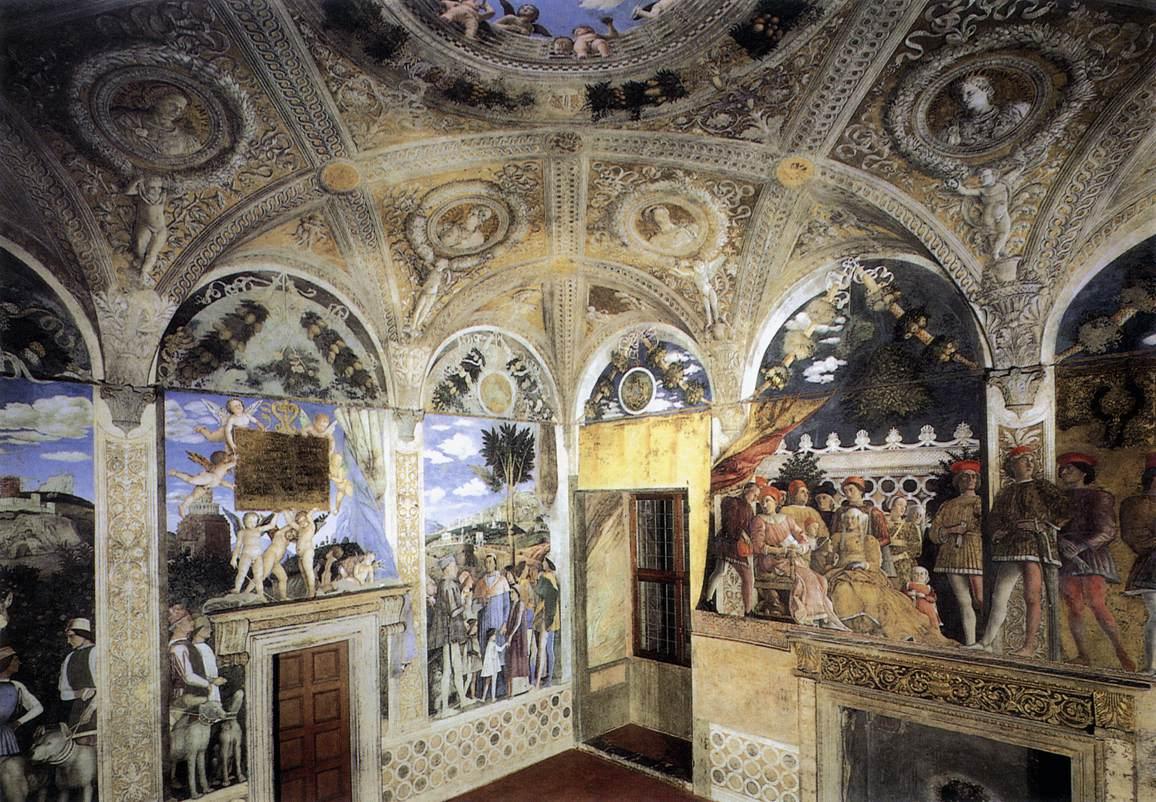 Senza dedica aprile 2012 for La camera degli sposi di andrea mantegna