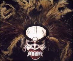 Balinese mask art