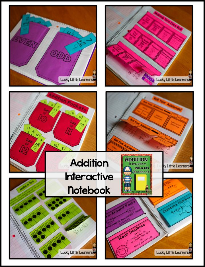 http://www.teacherspayteachers.com/Product/Addition-Unit-Interactive-Notebook-Pages-1330268