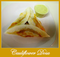 Cauliflower Dosa