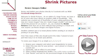 shrink pictures image