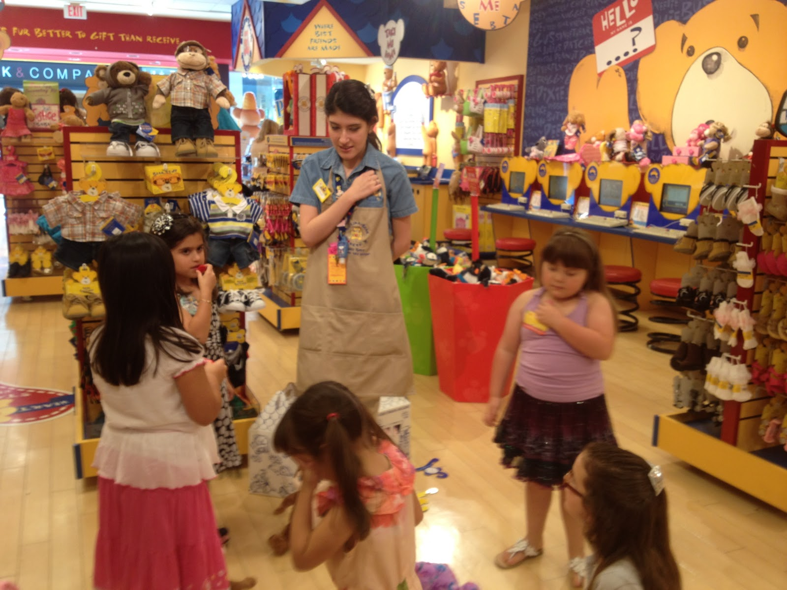 Parties and Fun Build A Bear Birthday Party Ideas