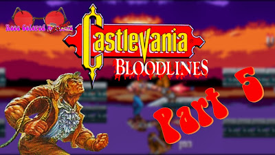Castlevania Bloodlines for the Sega Genesis is an awesome game