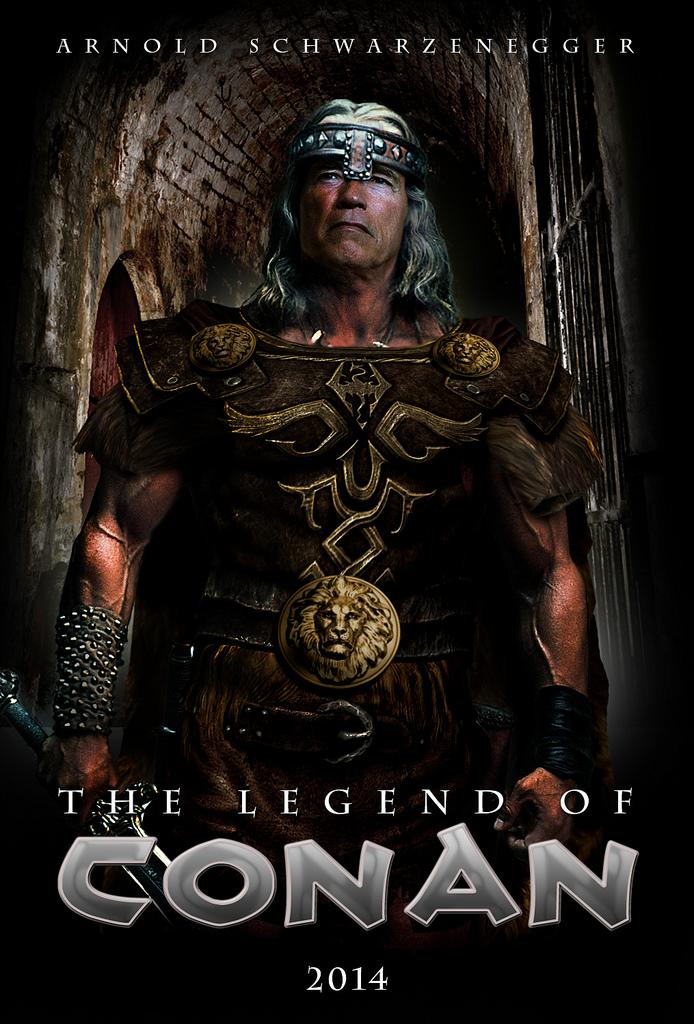 """Fan poster de """"The Legend of Conan"""""""