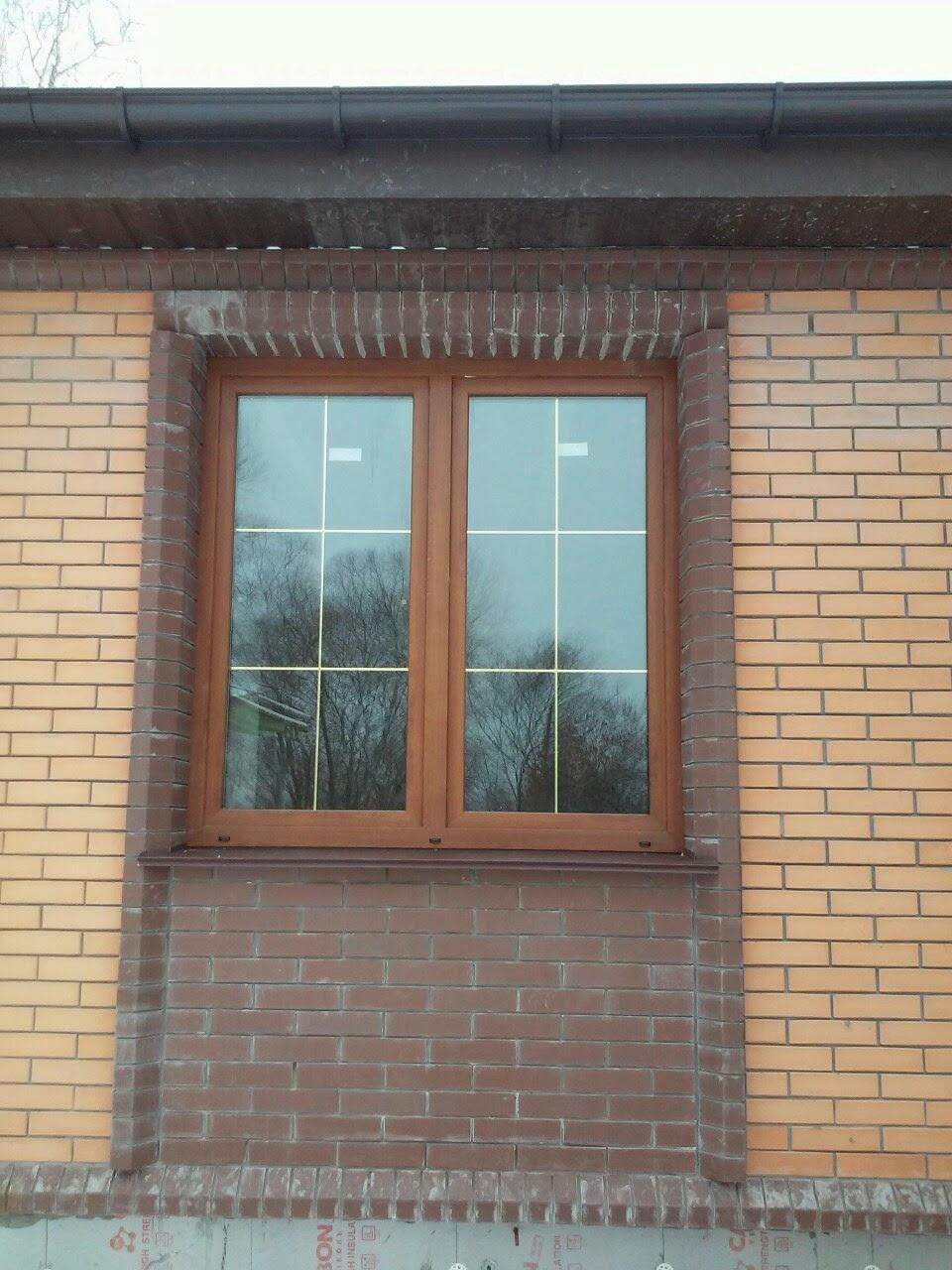 rehau e-60 окна зветные дуб золотой