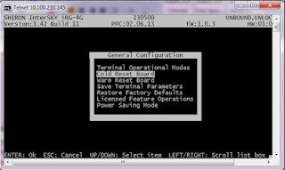 konfigurasi modem shiron