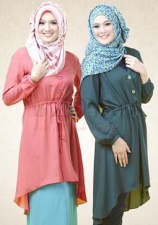 Baju Muslim Kombinasi Pilihan