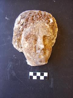 κεφαλή από τον ελληνιστικό Οξύρρυγχο
