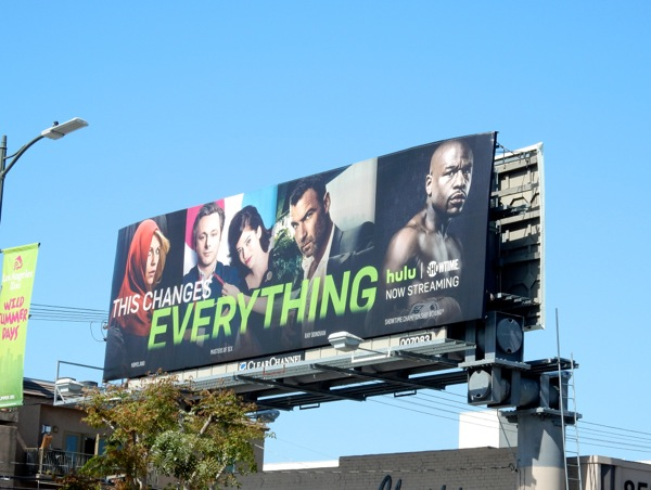 This changes everything Hulu Showtime billboard
