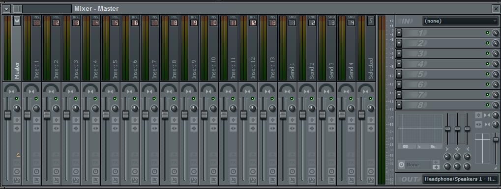 Как сделать моно звук в fl studio