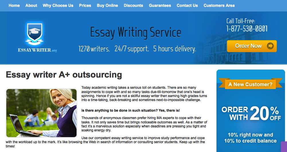 university essay marking service