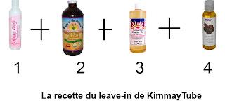 La recette du leave-in de KimmayTube