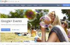 Google+ Eventos: lo nuevo de Google+