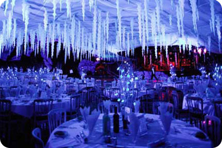 if you want maximum magic and sparkle a winter wonderland theme will do the trick there are no half measures im talking full on narnia style stuff