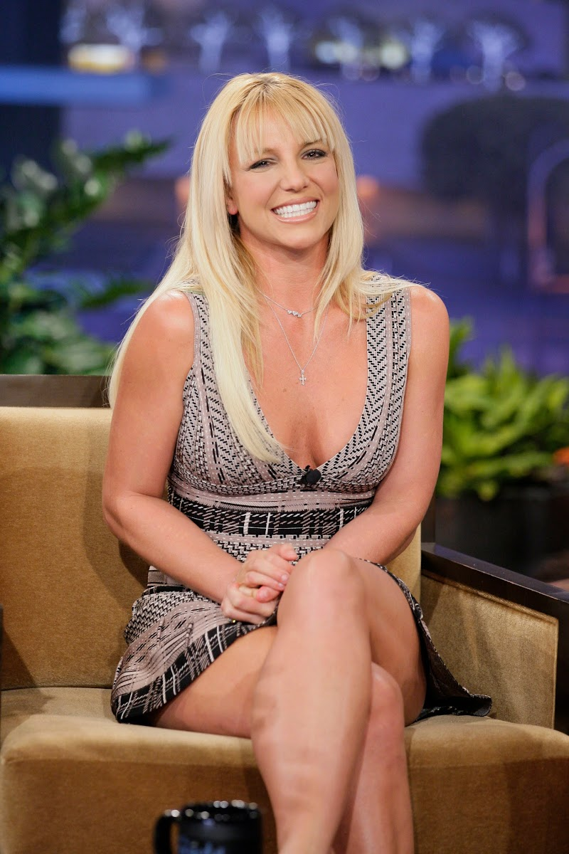 Britney Spears Photos at Tonight Show with Jay Leno