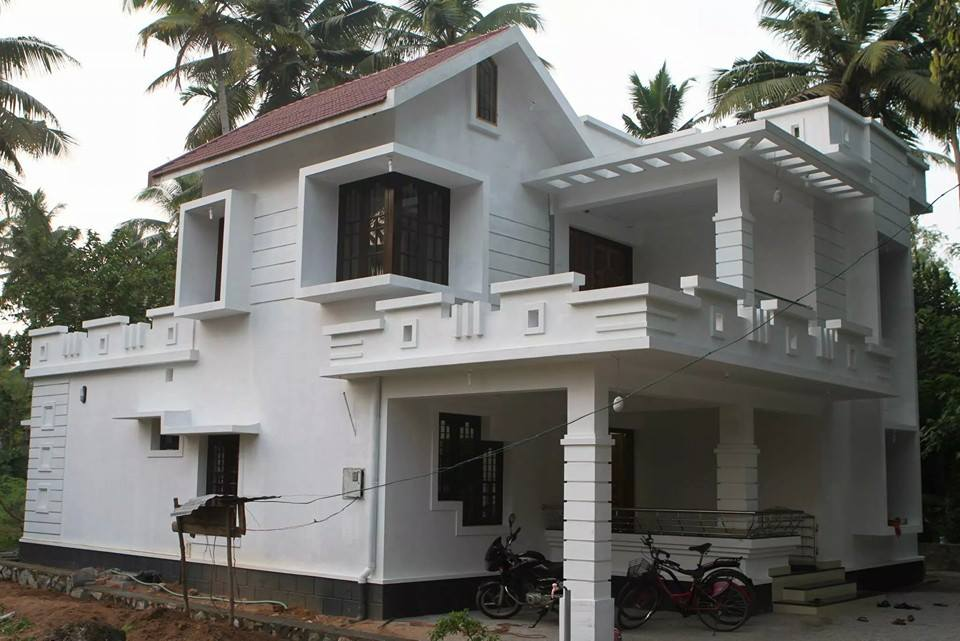 New kerala style home design plan sweet home with low for New model house in kerala
