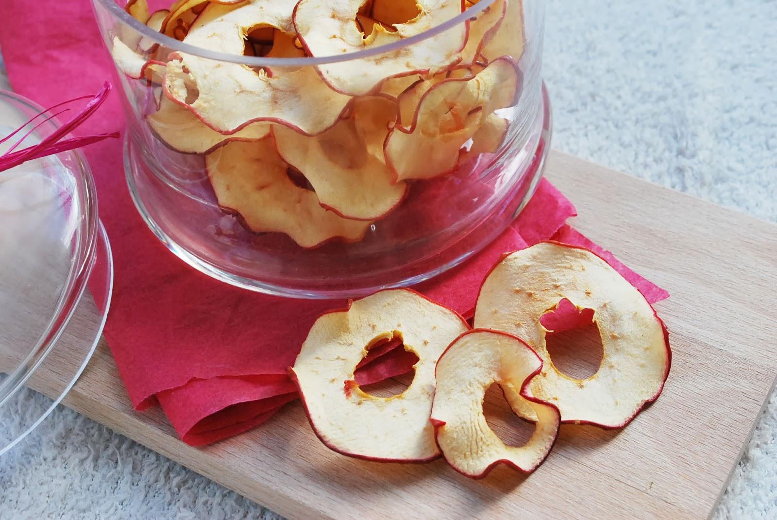 Croquantes les chips de pomme