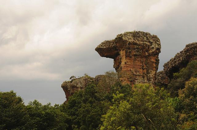 Parque Estadual de Vila Velha no Paraná