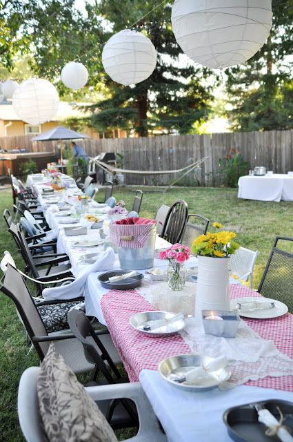 I Found Much Of My Inspiration From A Backyard Party Kasey Buick Had Last Year Was Going For Cowboy Meets Shabby Chicand Well Will Let The Pictures