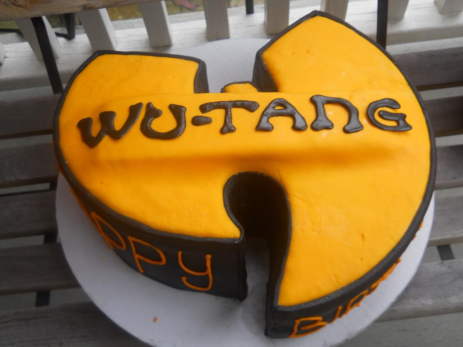 Wu Tang Clan Birthday Cake