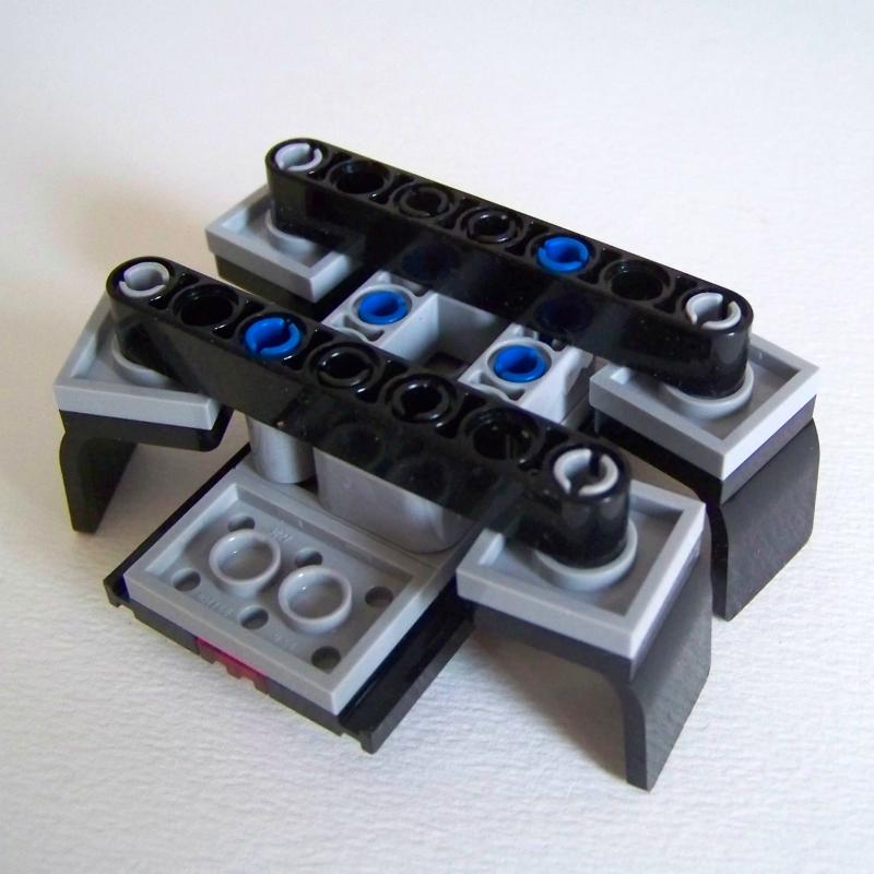 LEGO chair table build