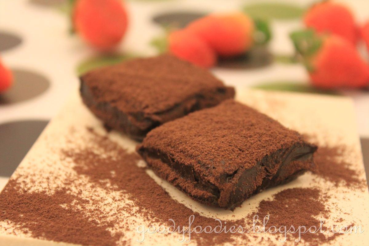 GoodyFoodies: Recipe: Homemade Japanese Nama Chocolate
