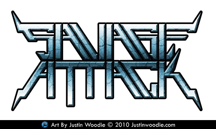Savage Attack Logo By Justin Woodie